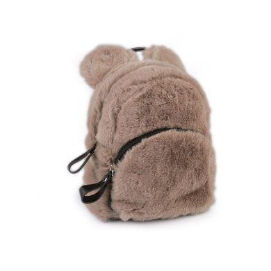 Dívčí střední chlupatý batůžek Medvěd Hnědý Lifestyle ST770796ss03