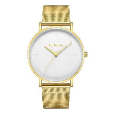 GENEVA dámské elegantní hodinky Zlaté Shim Watch CARZ676Z