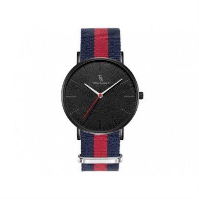 TOM SAINTZ hodinky s nylonovým páskem Granát Carla CARZM194PAS