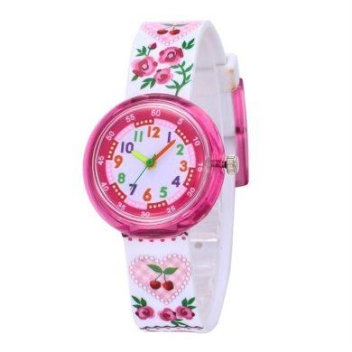 Dívčí silikonové hodinky Růženka Shim Watch 180925150233R