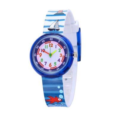 Chlapecké silikonové hodinky Námořník Shim Watch 180925150233N