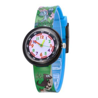 Chlapecké silikonové hodinky Jurský park Shim Watch 180925150233D