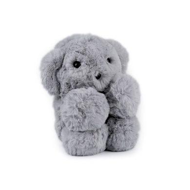 Kožešinový dětský batůžek Šedý medvídek Lifestyle F770955ss03