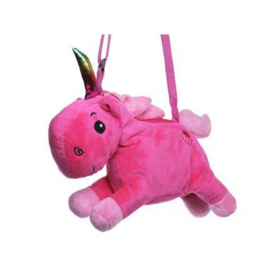 Plyšová kabelka jednorožec Růžový Lifestyle F770988ss02