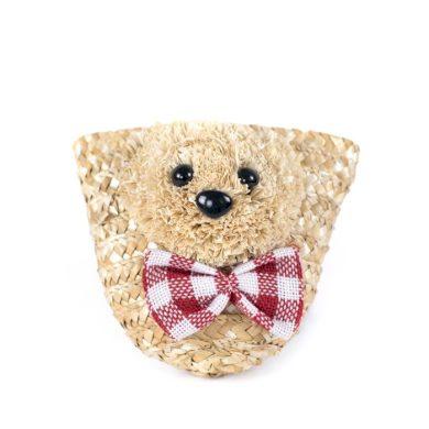 Dětská slaměná kabelka Teddy bear Lifestyle Ftr19253
