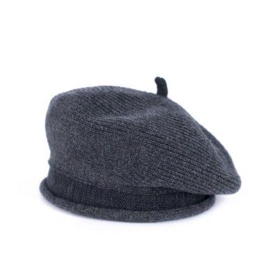 Dámský baret Candela Tmavě šedá Artofpolo FAcz18416ss03