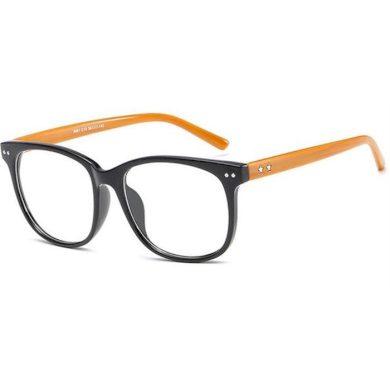Brýle s čirými skly bez dioptrii Stars Wood Wayfarer style 190112025546