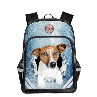 Dětský školní batoh Jack russell terrier Lifestyle BL1234JRT