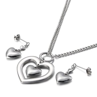 Souprava šperků z chirurgické oceli Srdce v Srdci Impress Jewelry 190912140523