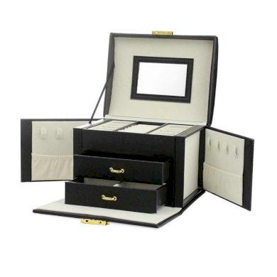 Elen kufřík na šperky šperkovnice Černá BMD CARPD102CZ