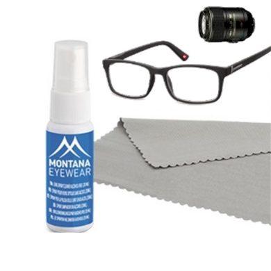Sada na čištění brýlí- sprej a mikrouťerka 20 ml Montana BLFBOX83