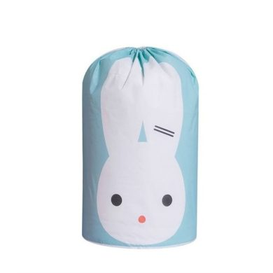 Plastový vak na hračky na prádlo Zelený králíček Huado CAROR36N
