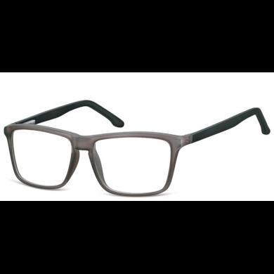 Obdelníkové brýle bez dioptrii MATT Black Olympic eyewear SUNCP161E