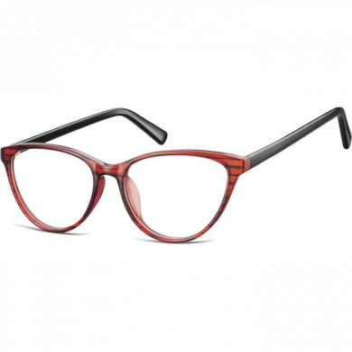Dámské nedioptrické brýle CAT GIRL Červené Olympic eyewear SUNCP127A