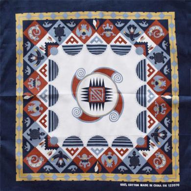 Bavlněný šátek Aztécký motiv Artofpolo ART-AZT