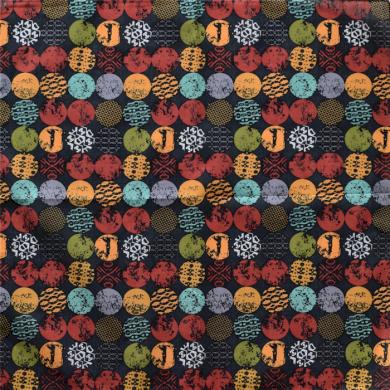 Bavlněný šátek Barevné puntíky Artofpolo ART-BPS02