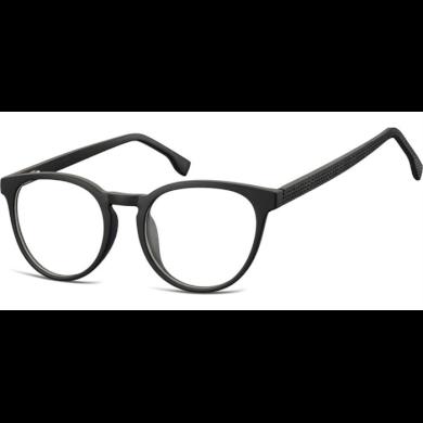 Ovalné brýle bez dioptrii Discussions - černé Olympic eyewear SUNCP125