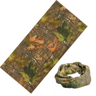 Multifunkční šatka Podzimní kamufláž 48x25cm Artofpolo FAKT003