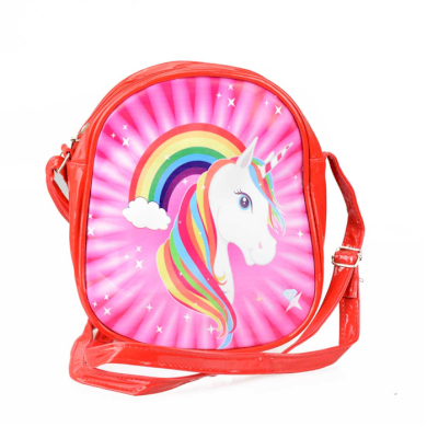 Dětská kabelka s Jednorožcem Červená Lifestyle BNL-0126