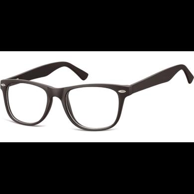 Brýle bez dioptrii wayfarer Flexi Černé Montana SUNCP134