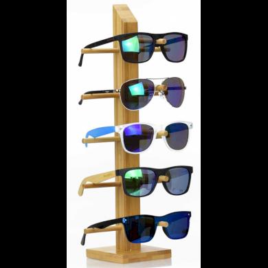 Dřevěný stojan na sluneční brýle Bambus Fuzio CLAS-250BMB