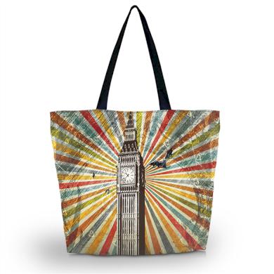 Huado nákupní a plážová taška - Big Ben London Huado GW-17941
