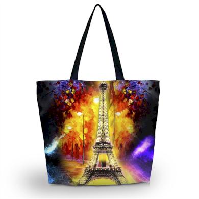 Huado nákupní a plážová taška - Eiffel tower Paris Huado GW-18318