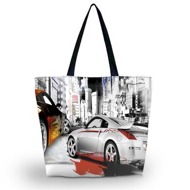 Huado nákupní a plážová taška - Dream Cars Huado GW-19107