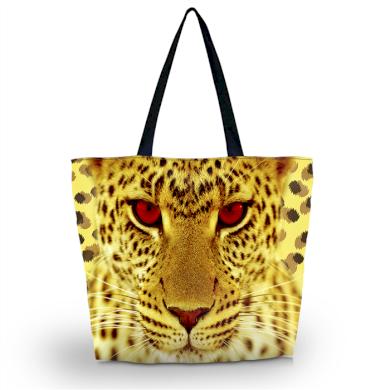 Huado nákupní a plážová taška - Leopardí kukuč Huado GW-19158