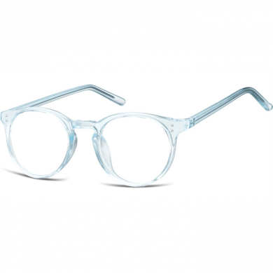Nedioptrické brýle Oval Cute Modré Montana SUNCP123A