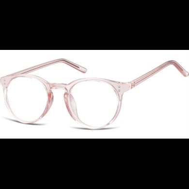 Nedioptrické brýle Oval Cute Růžové Montana SUNCP123C