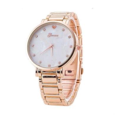 Geneva hodinky dámské Opál Růžové zlato Shim Watch CAZ125RZ