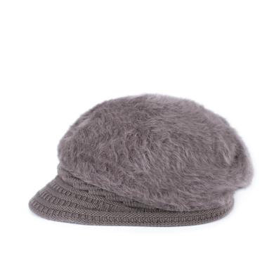 Dámský baret s kšiltem Angora Hnědá Artofpolo FAcz19567ss03