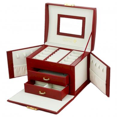 STENBERG kufřík na šperky šperkovnice Elen Bordó STENBERG CARPD102CZE