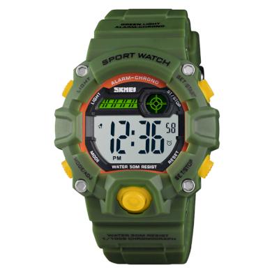 SKMEI 1451 Dětské sportovní hodinky Soldier Spy SKMEI SKM1484GN