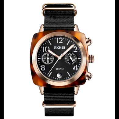 Skmei 9186 dámské hodinky Charming Amber Černé SKMEI SKM9186BC