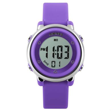 SKMEI 1100 dívčí digitální hodinky Fialové SKMEI SKM1100V