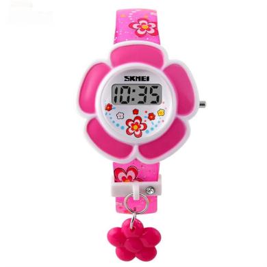 SKMEI 1144 digitální dívčí hodinky Flowers Růžové SKMEI SKM1144R