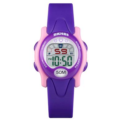 SKMEI 1478 dívčí sportovní hodinky Love It Fialové SKMEI SKM1478VL