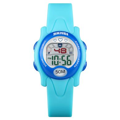 SKMEI 1478 dívčí sportovní hodinky Love It Modré SKMEI SKM1478BL