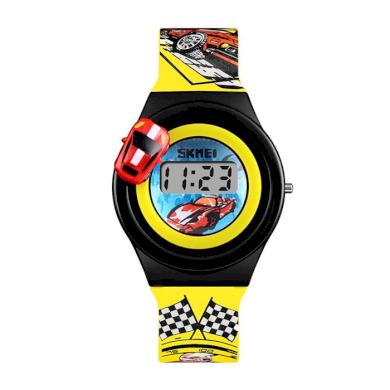 SKMEI 1376 dětské hodinky pro kluky Racer Žluté SKMEI SKM1376L