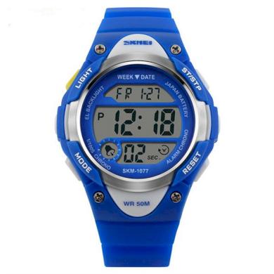 SKMEI 1077 sportovní hodinky pro děti Salkom Modré SKMEI SKM1077B