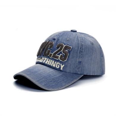 ANG-E kšiltovka denim NYC.25 Blue Jeans Ang-e F2NYC25BJ