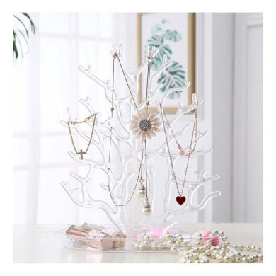 Stojan na šperky Strom transparentní - 2.jakost Fuzio E35TRANS