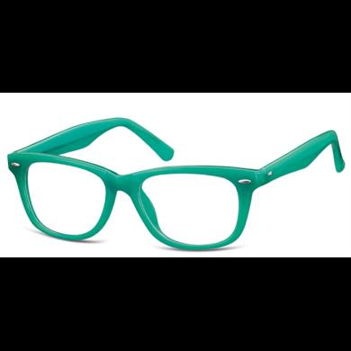 Dětské brýle bez dioptrii Wayfarer - Zelené Montana SUNPK10I