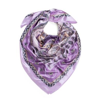 Dámský šátek s ornamenty Orientál Levandule Artofpolo Fsz20334ss01