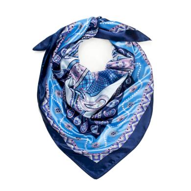 Dámský šátek s ornamenty Orientál Navy Blue Artofpolo Fsz20334ss02
