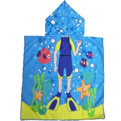 Dětské pončo 120x60 cm Potápěč Carla CARPEL01WZ11