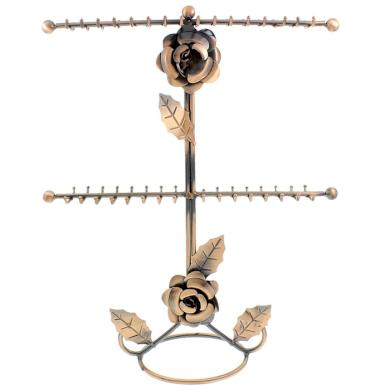 Kovový stojan na šperky Růžička Rose Fuzio 151216144809