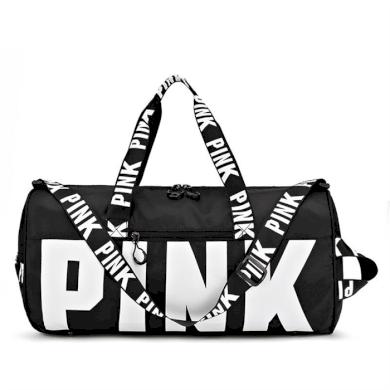 Sportovní taška do posilovny na jógu PINK Černá Lifestyle 21031905343611407B